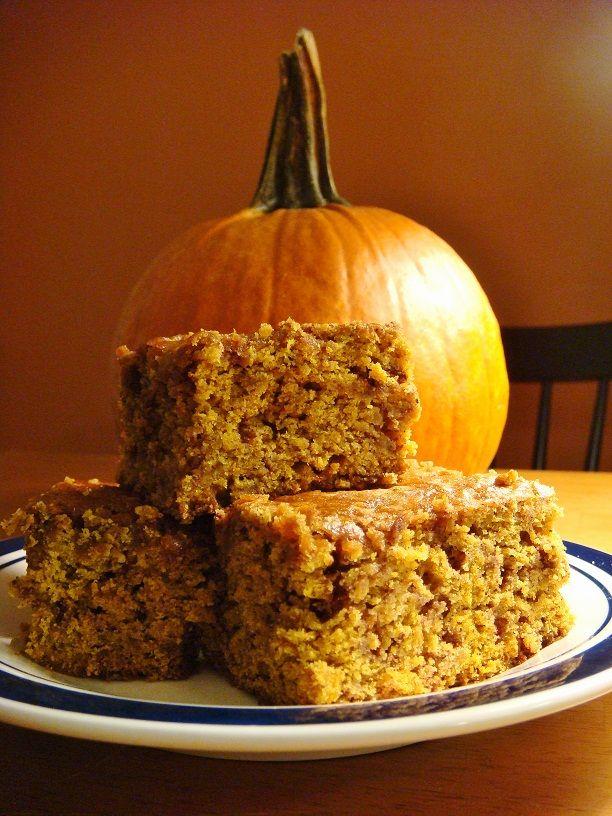 Cinnamon Chip Pumpkin Blondies | Yummy in my Tummy | Pinterest