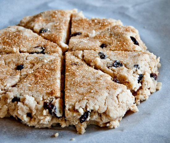 gluten free coconut raisin scones photo | Gluten-free | Pinterest