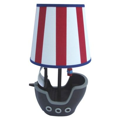 circo pirate striped table lamp roman 39 s bedroom ideas pinterest