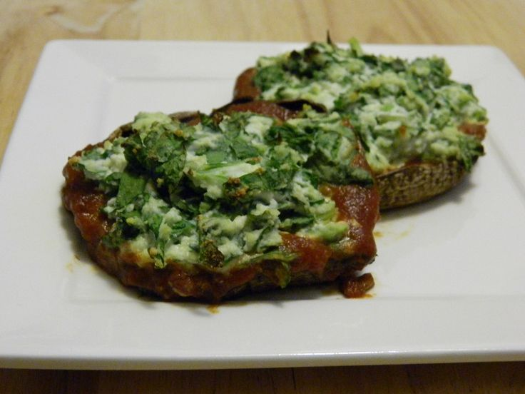 Spinach Stuffed Portobello Mushrooms | The Best Blog Recipes #stuffed ...