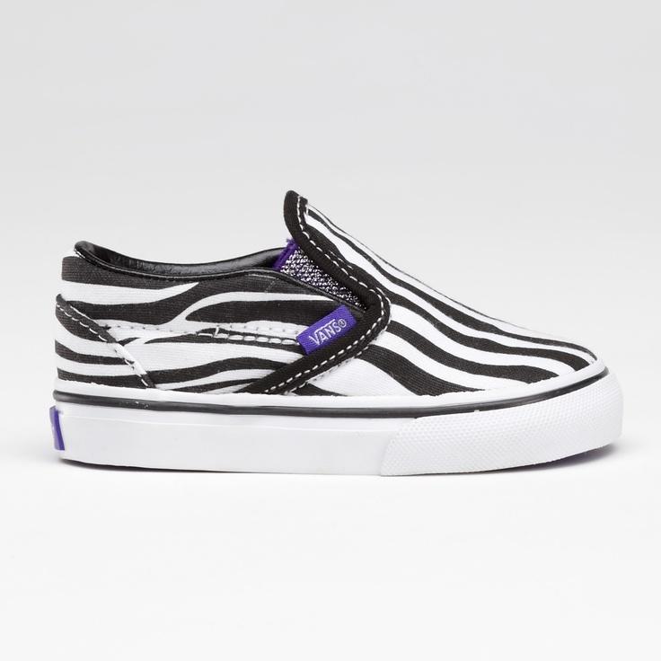 Zebra vans toddler shoes