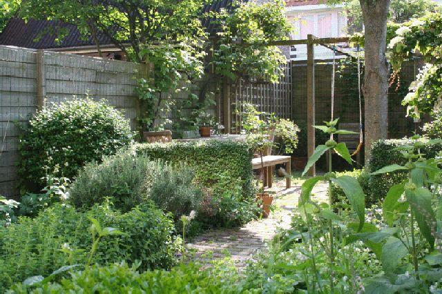 Kleine stadstuin huis en tuin pinterest - Kleine stadstuin ...
