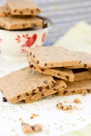 Krissy's Creations: Chocolate Chip Coffee Shortbread