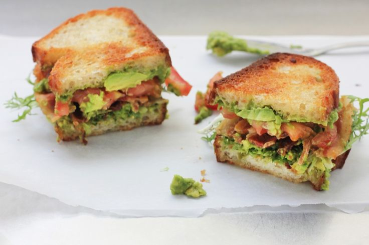 BLT with Avocado Spread ---stuffed with crisp bacon, juicy tomato and ...
