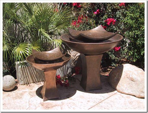 Chic outdoor water features decorating diva interior for 218 jewel terrace danville ca