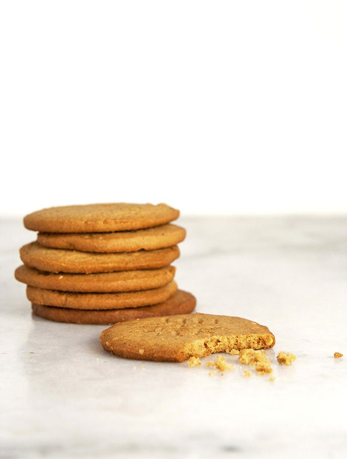 Crispy Peanut Butter Cookies | Sweets | Pinterest