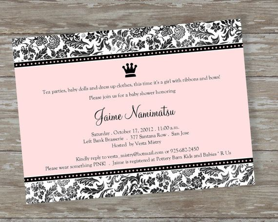 baby shower invitations royalty baby by itsallaboutthecards