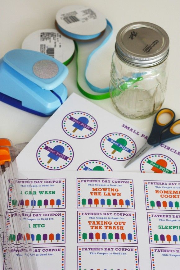diy father's day coupon book
