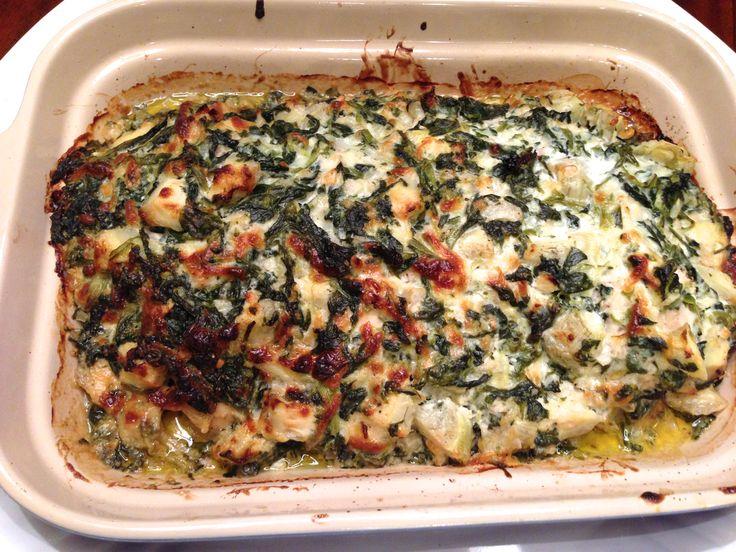 Spinach Artichoke Chicken, OH SO GOOD! | Dinner is Ready | Pinterest