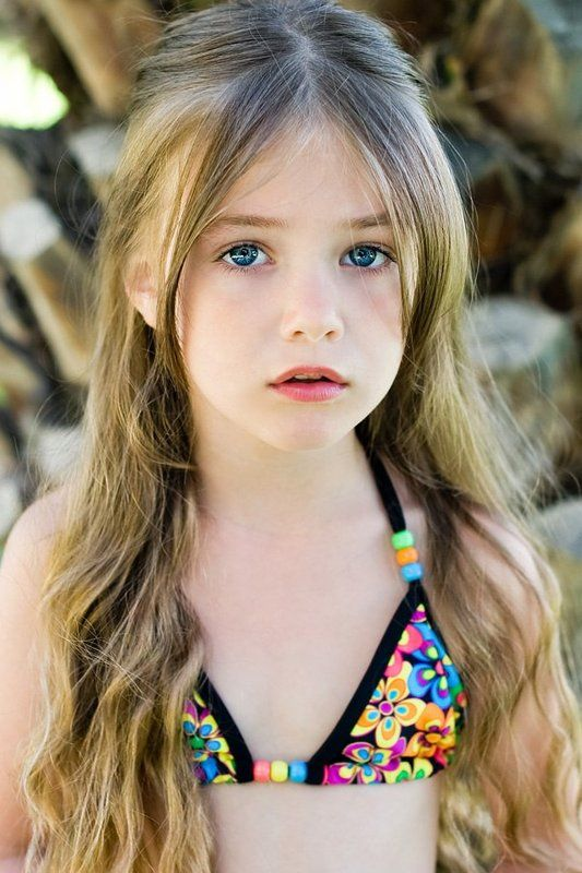 Kristina Pakarina Model Young Child From Russia