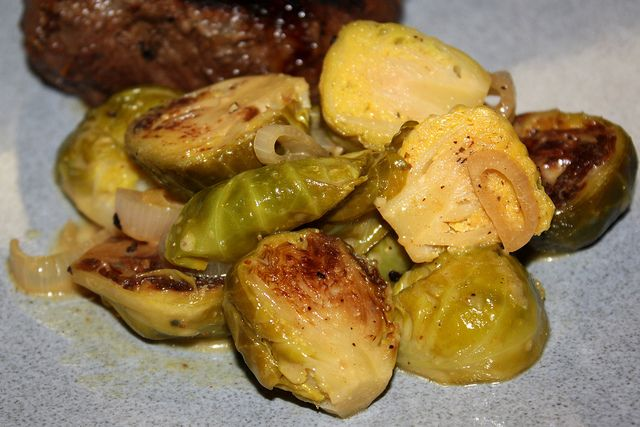 Braised Brussels Sprouts In Mustard Sauce Recipes — Dishmaps