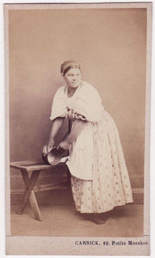 Kitchen Maid : Kitchen maid. Russian photo.  Kläder - ryska boken  Pinterest