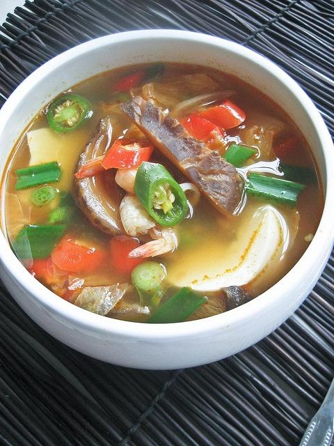 Soondubu Jjigae (Korean Soft... | Fitness Foods | Pinterest