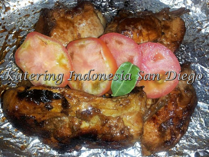 Ayam Bakar/ Grilled Chicken Breasts. | Chickens | Pinterest