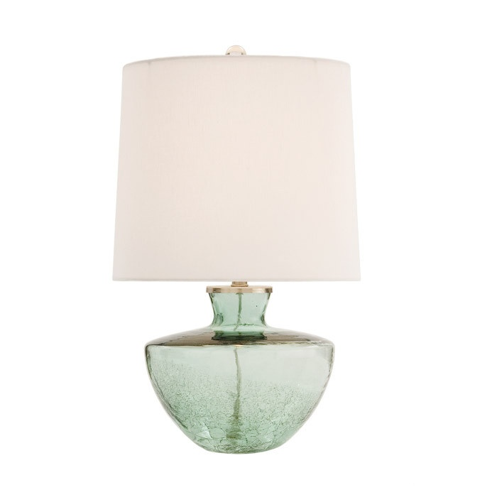 Table lamp with glass base  lighting  Pinterest