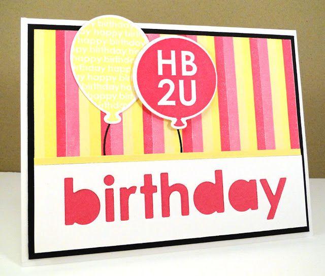 ... Die-namics, Happy Birthday Die-namics - Jody Morrow #mftstamps