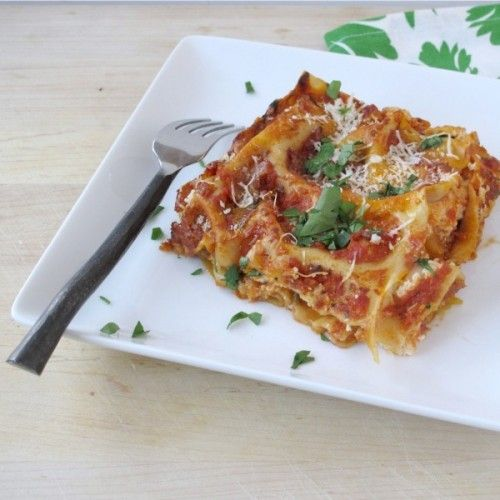 Chipotle Butternut Squash Lasagna   Food!   Pinterest