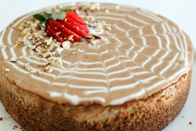 Decadently Healthy Chestnut and Hazelnut Cheesecake | by Sonia! The ...