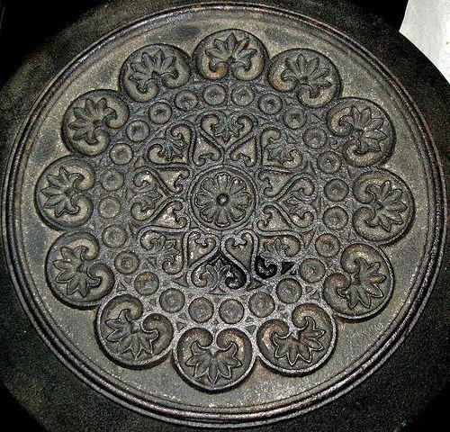 An old cast iron stove - Szekszard, Hungary