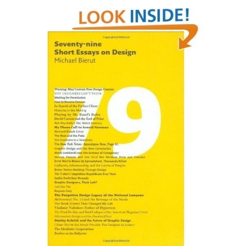 seventy nine short essays on design ebook