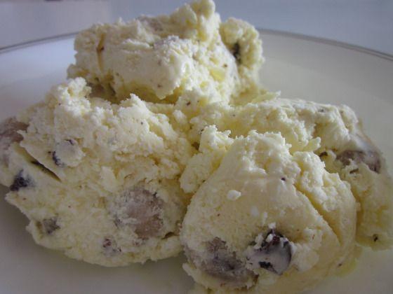 Cookie Dough Ice Cream Recipe. | Desserts...mmm | Pinterest
