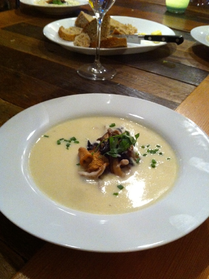 real deal the real mushroom soup from jamieoliver com mushroom barley ...