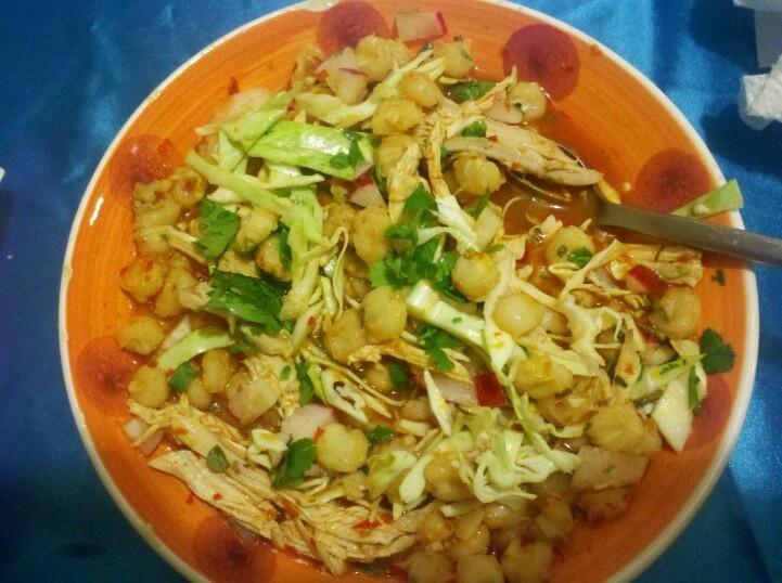 Chicken Pozole Recipe — Dishmaps