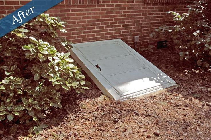 Crawl Space Doors By For The Home Pinterest