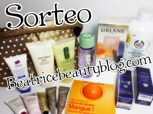 Sorteo en Béatrice Beauty Blog