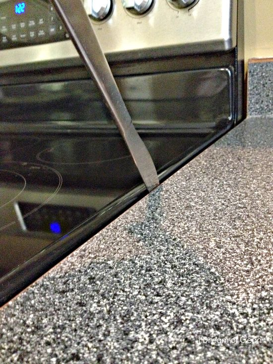 Countertop Around Stove : How to clean the space between your stove and kitchen countertop...am ...
