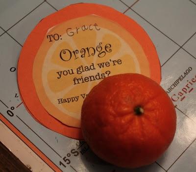 orange valentine's day flowers