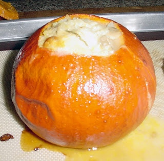 Pumpkin Stuffed with Everything Good!   Food to Inspire - Main Dishes ...