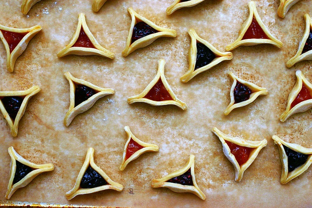 hamantaschen, unbaked by smitten kitchen | Deeeelish! | Pinterest