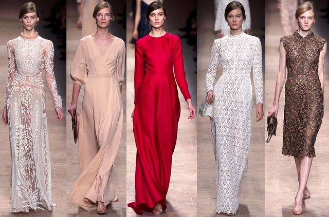 valentino paris fashion week spring 2013