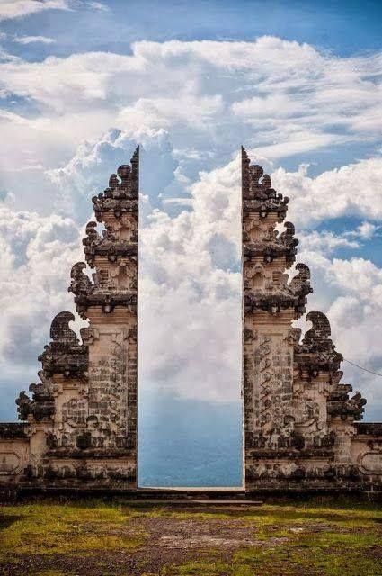 Pura Lempuyang Door in Bali,Indonesia