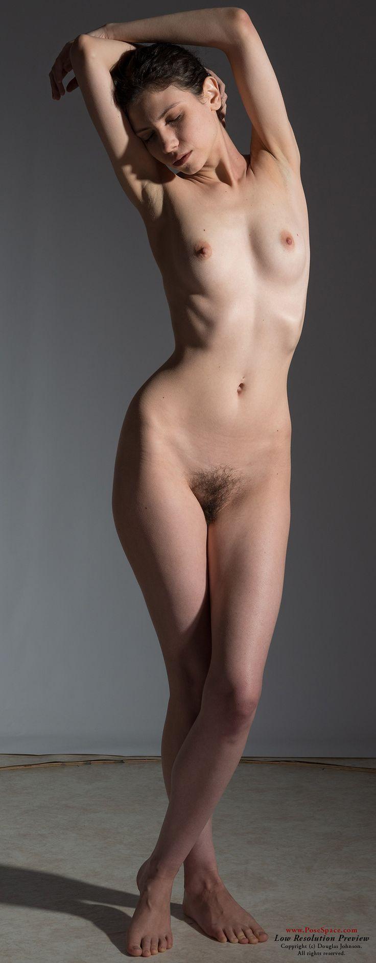 Nude models in sex pose hentia clip