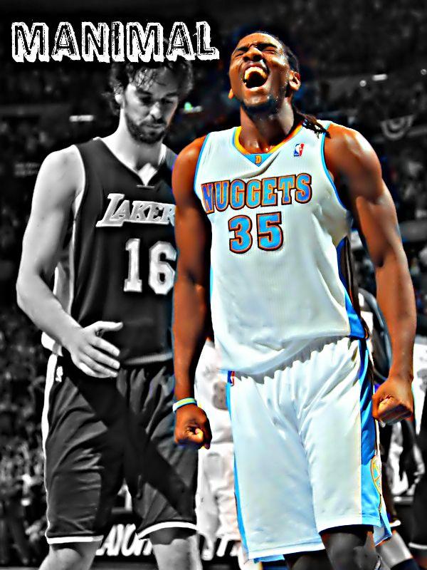Kenneth Faried: MANIMAL | Joseph Olson NBA edits | Pinterest