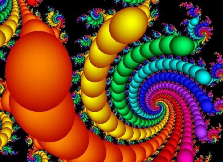Bright colors! | Natur... Colorful Lion Paintings