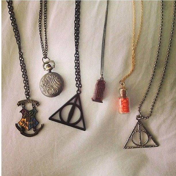 harry potter jewelry of a potterphile