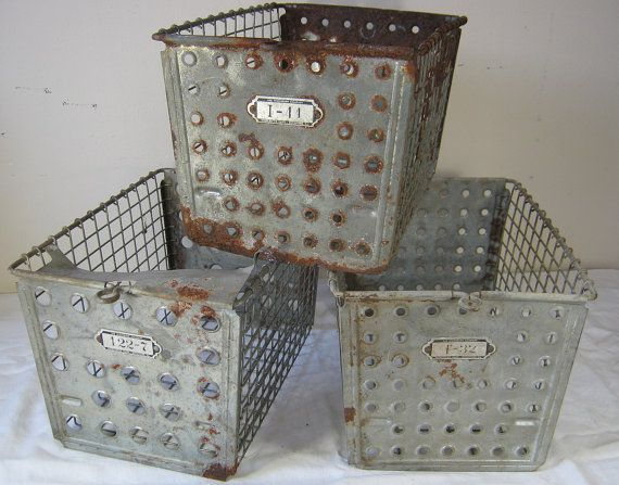Vintage Rustic LOCKER BASKET School Gym - http://yourhomedecorideas.com/vintage-rustic-locker-basket-school-gym/ - #home_decor_ideas #home_decor #home_ideas #home_decorating #bedroom #living_room #kitchen #bathroom #pantry_ideas #floor #furniture #vintage #shabby