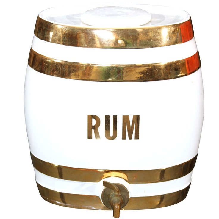 Rum? Sure, let me pour you one from my  rum keg.