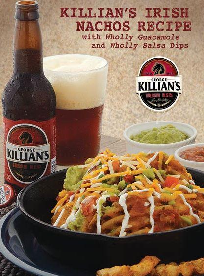 Recipe: Killian Irish Nachos from Wholly Guacamole