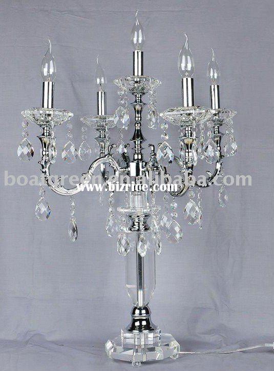 crystal chandelier table lamp bling and blue jean 2013 nok pinter. Black Bedroom Furniture Sets. Home Design Ideas