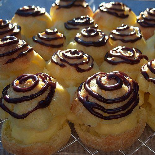 Profiterole (cream puffs) | Yummy for my Tummy | Pinterest