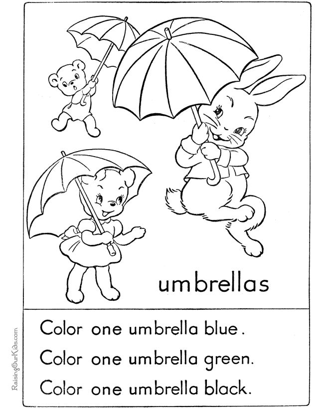 Easter Coloring Pages For Kindergarten : Preschool easter coloring page pinterest