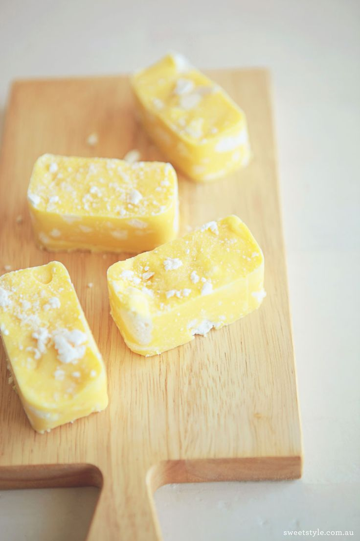 Lemon Meringue Fudge! Id like to make this for the special people in my life who arent Chocolate lovers (like myself).