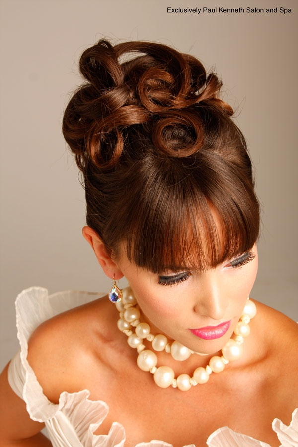 hairstyles for square jaw : wedding hairstyle Wedding & Special Event Hairstyles Pinterest