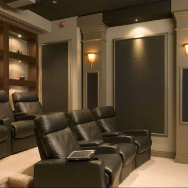 Color ideas for theater room for the home pinterest Theater rooms design ideas