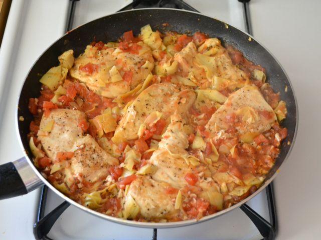 Artichoke Chicken Skillet | Recipe