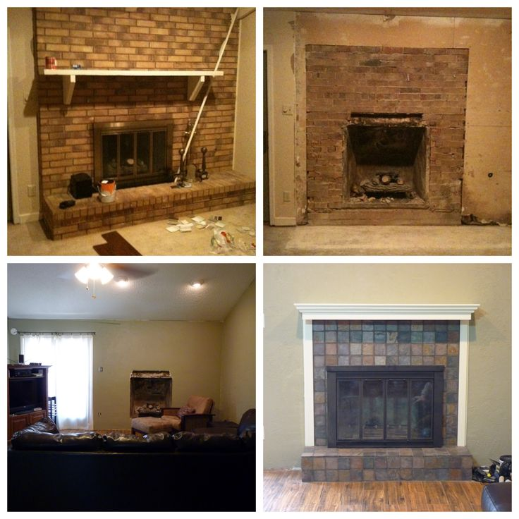 Pin by steph gibson on remodel ideas pinterest - Fireplace finish ideas ...